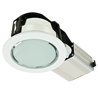 DOWNLIGHT UGRADNI 2X18w GL102-5 BELI IP44 EVG