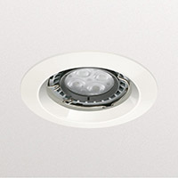 DOWNLIGHT 2X26W OPAL/BELI BRUSENO STAKLO IP44 oms